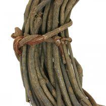 Dekorativ krans av grenar naturlig Ø40cm naturlig krans