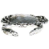 Deco cancer antikt silver 12cm
