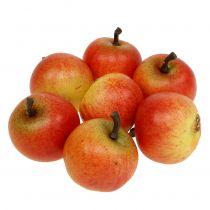 Konstgjorda frukt äpplen Cox 3,5 cm 24st