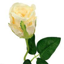 Konstgjorda blommor roskräm Ø6cm L50cm 6st