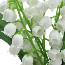 Konstgjord liljekonval vit 25cm 3st