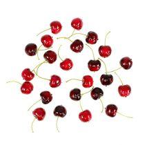 Konstgjord frukt sötkörsbär blandad Ø2,5cm 24st