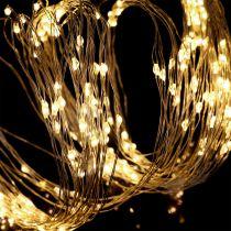 LED-ljuspaket för insidan och utsidan 640mm 1,9 m silver / varmvit