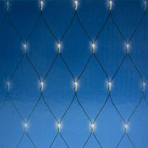 LED-ljusnät 384 varmvit 3m x3 m för utsidan