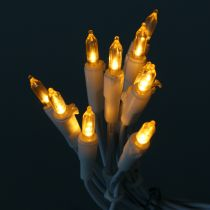 LED minikedja 10L vit varmvit 1,5 m