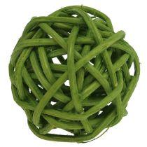 Lataball 3cm blekt grön 72st