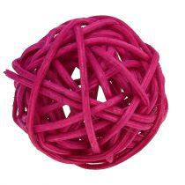 Lataball sortiment 3 cm rosa / lila / 72 stycken