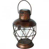 Sollykta, LED-hängande lampa industriellt utseende Ø16cm H32cm