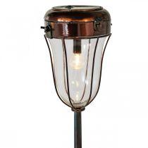 Sollykta att ansluta, LED-rörlampa Ø13,5cm L58cm H21cm
