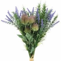 Örtgrupp lavendel, rosmarin, tistel 40cm