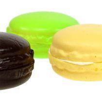 Macaron dekoration maräng olika färger 5 cm 8p