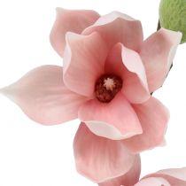 Magnolia konstgjord ljusrosa 70cm