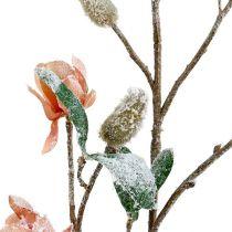 Magnolia gren ljusrosa L 82cm