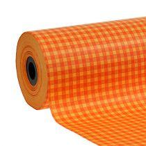 Manschettpapper 25cm 100m orange rut