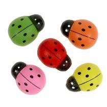 Nyckelpiglar färgade 2,5 cm 60p