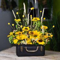 Metallväska, planter, väska för plantering L30 / 22,5 cm, uppsättning 2