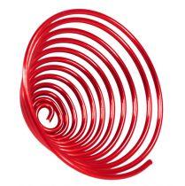 Aluminiumtrådskruv metallskruv röd 2mm 120cm 2st