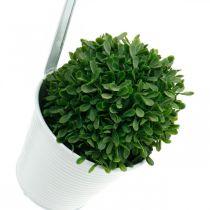 Planter, blomkruka att hänga, blomdekoration, hängkruka vit Ø13,5cm