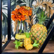 Konstgjord mini ananas H6.5cm - 8cm 6st