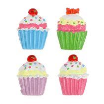 Mini cupcakes färgade 2,5 cm 60p