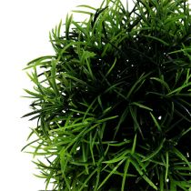 Mini gräsboll Ø12cm mörkgrön 1p