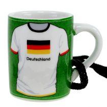 Minikopp Tyskland No.7 Ø4cm H5cm