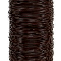 Myrtråd brun 0,35 mm 100 g