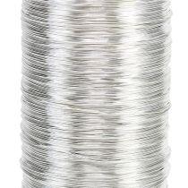Myrtråd silver 0,30mm 100g
