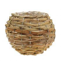 Korgboll för plantering av ljusbrun Ø16cm