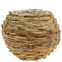 Korskula för plantering av ljusbrun Ø25cm