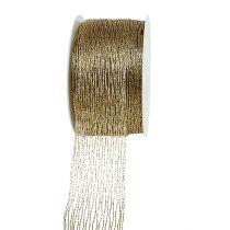 Meshband guldförstärkt 40mm 15m