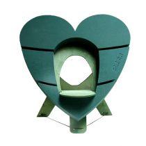 OASIS® Bioline® Deco urnhjärta 65cm med stativ