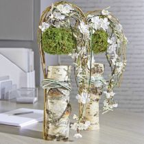 Blomskumcylinder torr pasta grå H5cm Ø8cm 20st