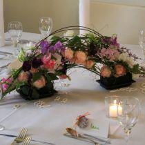 OASIS® Black Table Deco Mini Floral Foam Black 4st