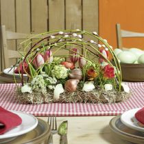 Blommor av tegel för bord av skum i tegel 29cm x 12cm x 8,5 cm 4st