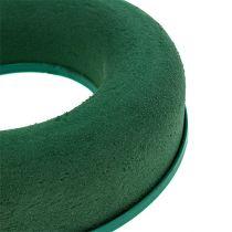 Blommig skumring kransgrön H4,5cm Ø17cm 6st