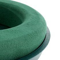 Plug-in sammansatt ring plug-in skum med skalgrön Ø30cm H4,5cm 2st