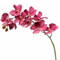 Konstgjord orkidégren rosa H83cm