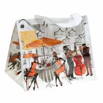Shoppingväska med handtag Bella Vita plast 32 × 21 × 26 cm