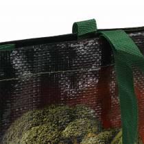 Shoppingväska med handtag Grönsaker plast 38 × 10 × 39 cm