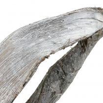 Palm Sing 110cm tvättad vit
