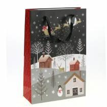 Presentpåse papperspåse julby H30cm 2st