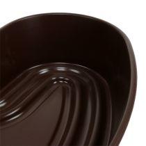 "Växthjärta ""Amora"" brun 35 x 35 cm, 1 st"