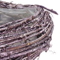 Växthjärta av vinbärsbär som tvättas 27 cm x 24 cm