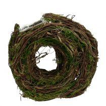 Växtkrans naturligt 28cm x 30cm