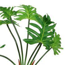 Philodendron växt konstgrön 58cm