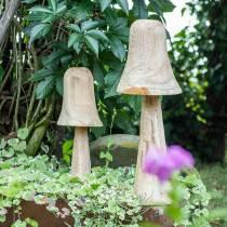 Svamp tall trä Ø18cm H35cm