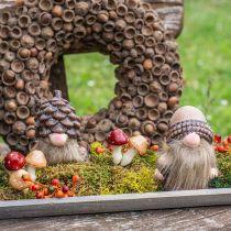 Blandade svampar 3cm x 5cm på tråd 48st