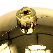 Plastkula guld liten Ø14cm 1 st