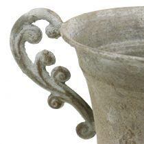 Kopp Antika stil Grå Ø14,5 cm H21cm